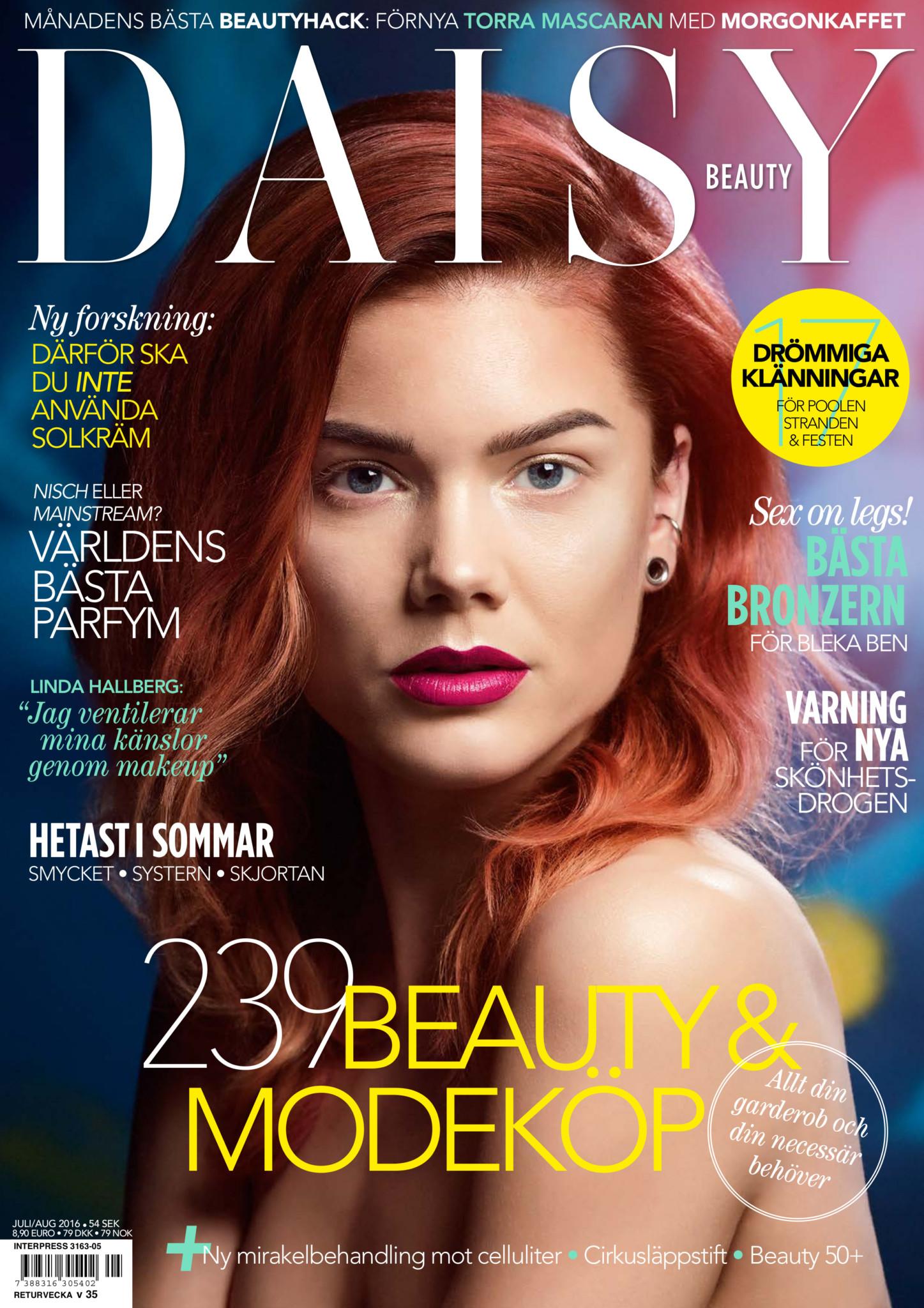 Omslag Daisy Beauty nr 5/2016