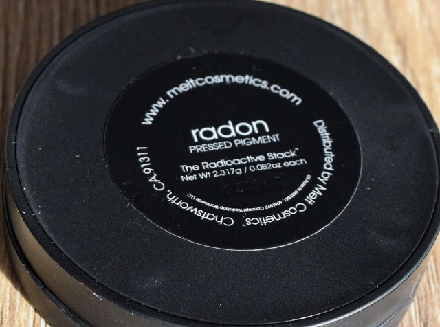 Melt Cosmetics Radioactive Eyeshadow Stack - Radon