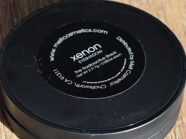 Melt Cosmetics Radioactive Eyeshadow Stack - Xenon