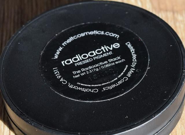 Melt Cosmetics Radioactive Eyeshadow Stack - Radioactive