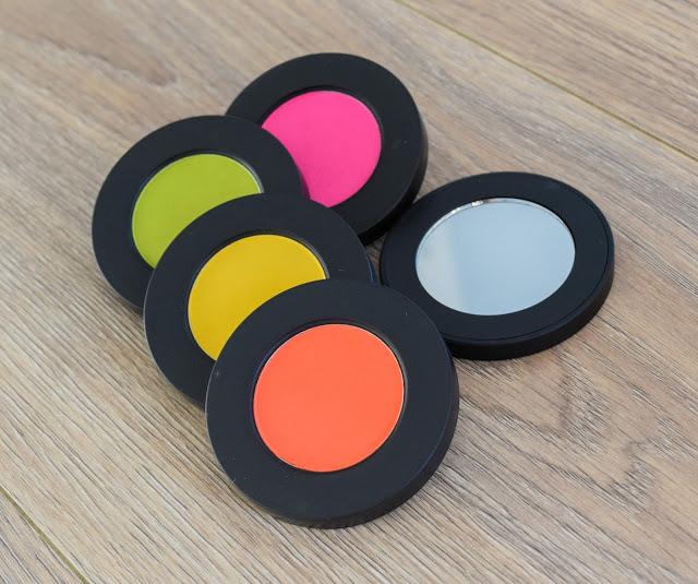 Melt Cosmetics Radioactive Eyeshadow Stack