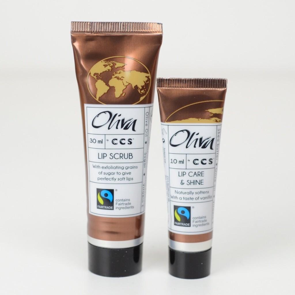 CCS Oliva Earth Lip Scrub & Lip Care & Shine