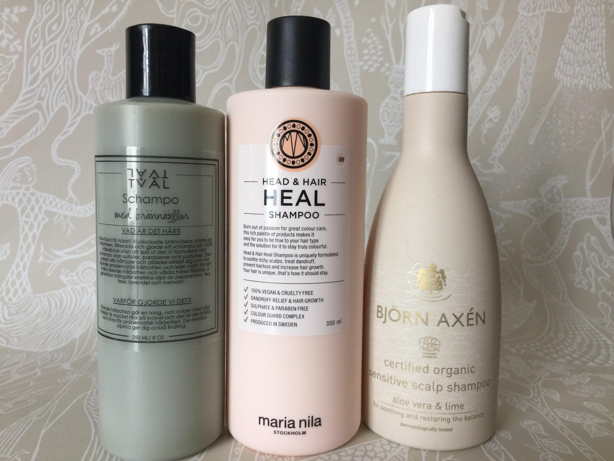 schampo torr känslig hårbotten