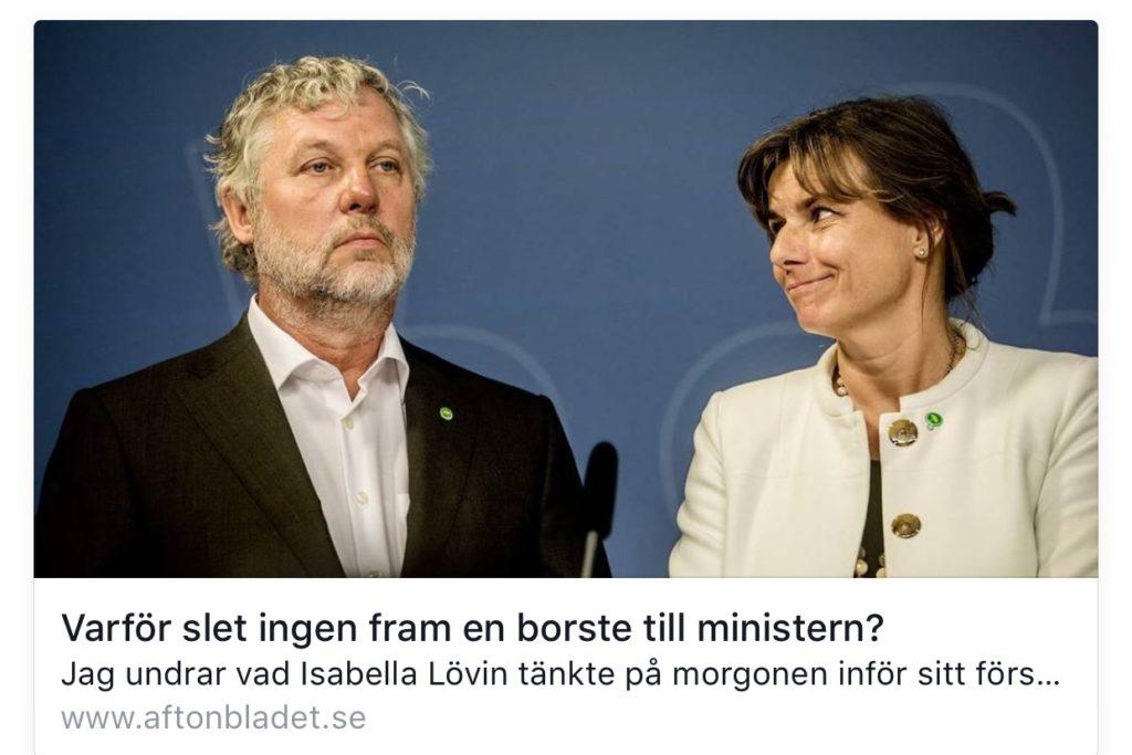 Aftonbladet Isabella Lövin