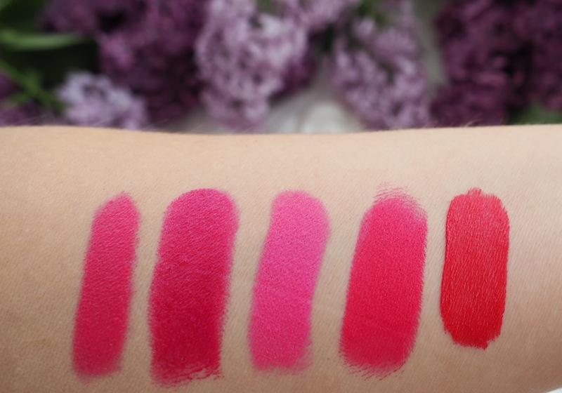 5 rosa läppfavoriter
