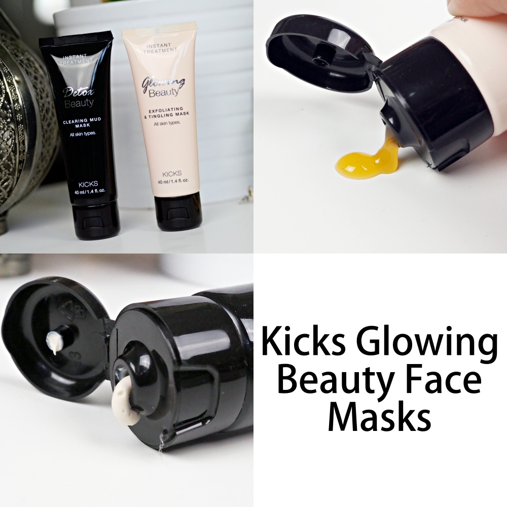 Kicks Glowing Beauty Face Masks