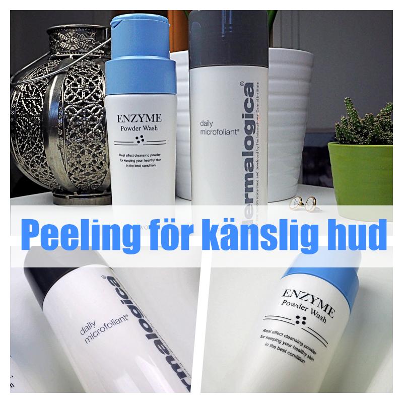Peeling för känslig hud