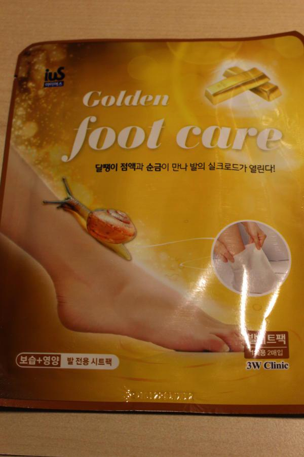 Golden foot care