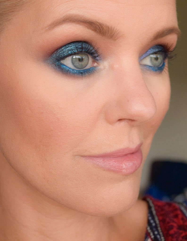 Veckans Video Electric Blue Smokey Eye Tutorial