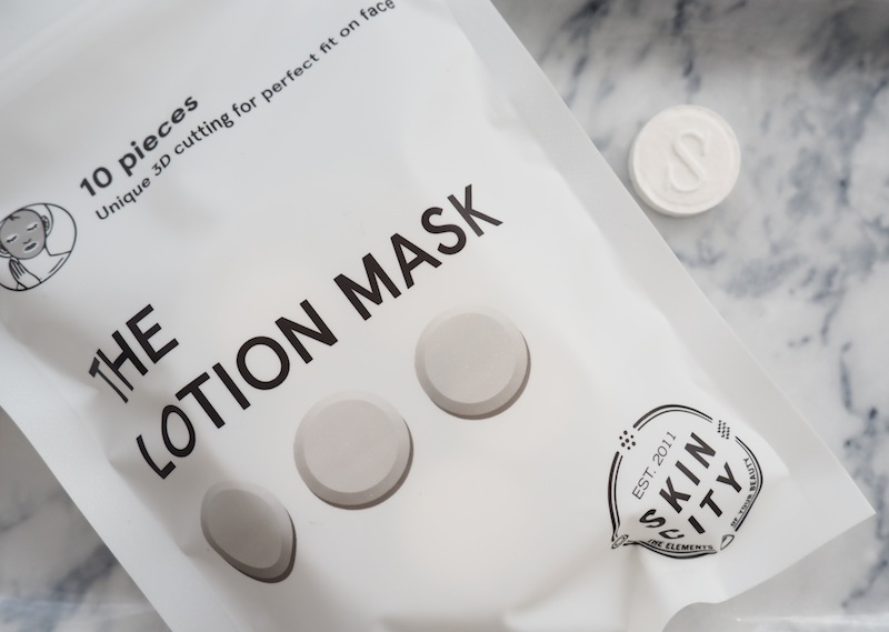 The Lotion mask