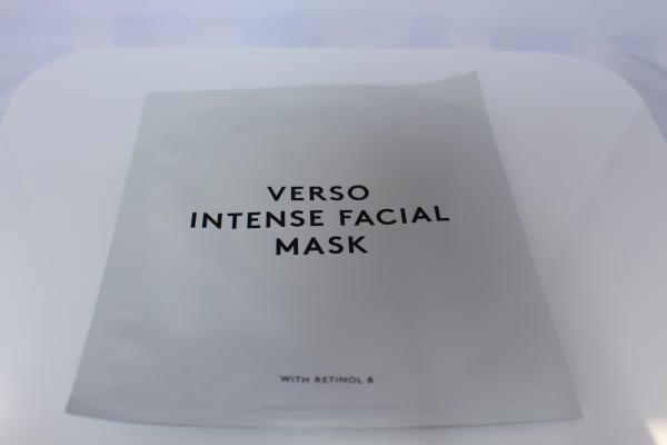 Verso Intense facial mask