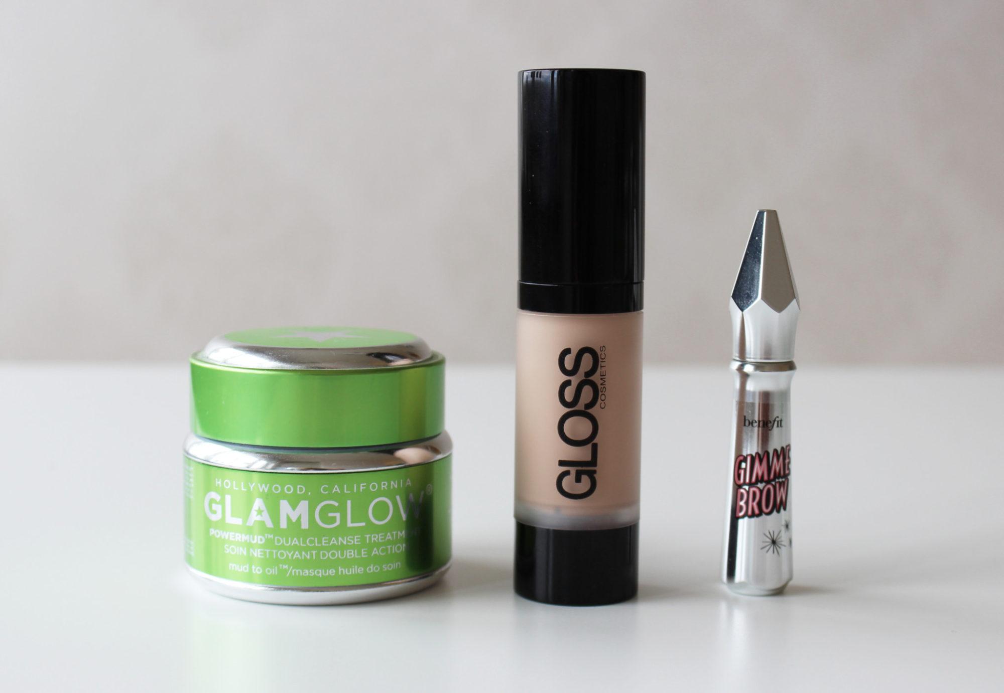 Veckans topp 3 med GlamGlow, Gloss Cosmetics och Benefit