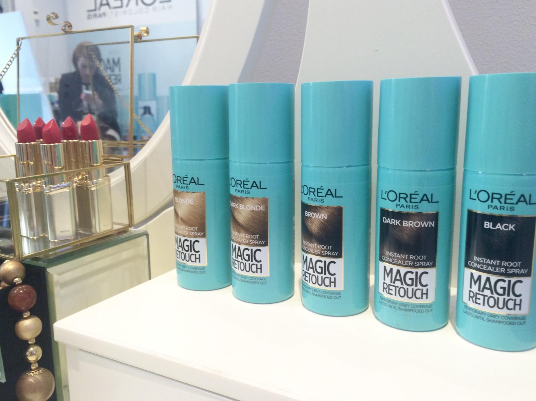 loreal hårfärg spray