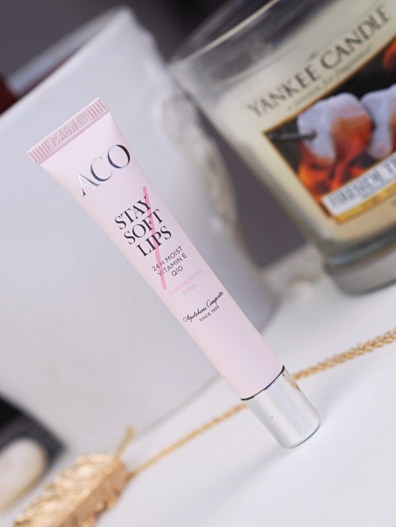 ACO Stay Soft Lips Nytt läppbalsam