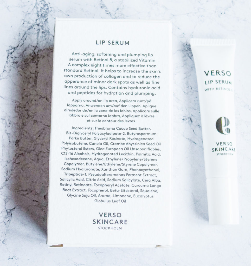 Verso Lip Serum