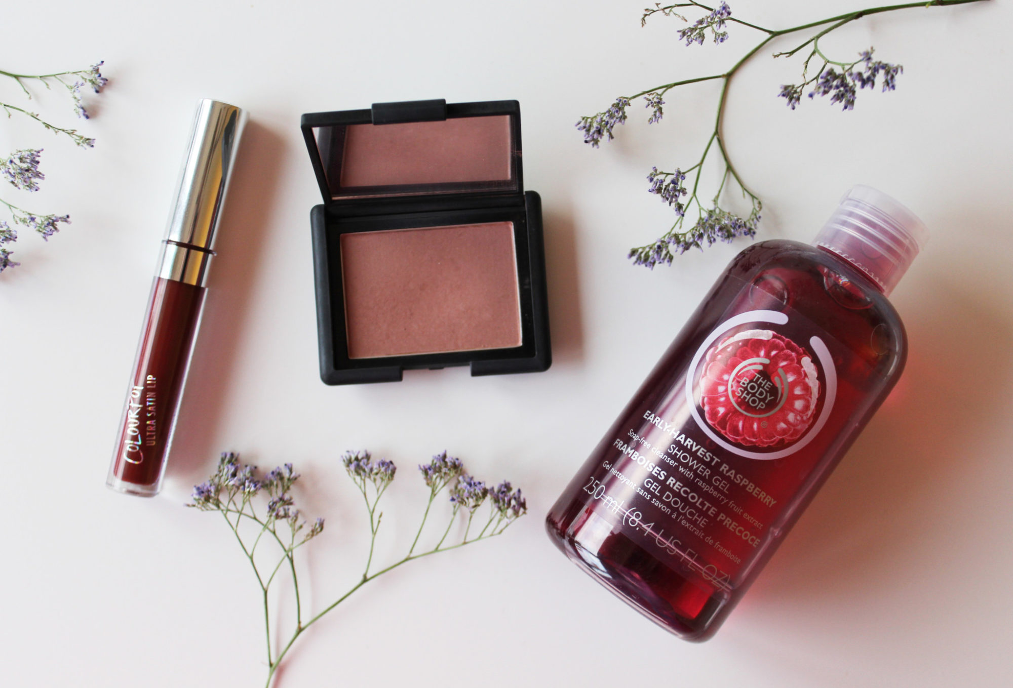 Veckans topp 3 med Colourpop, NARS och The Body Shop