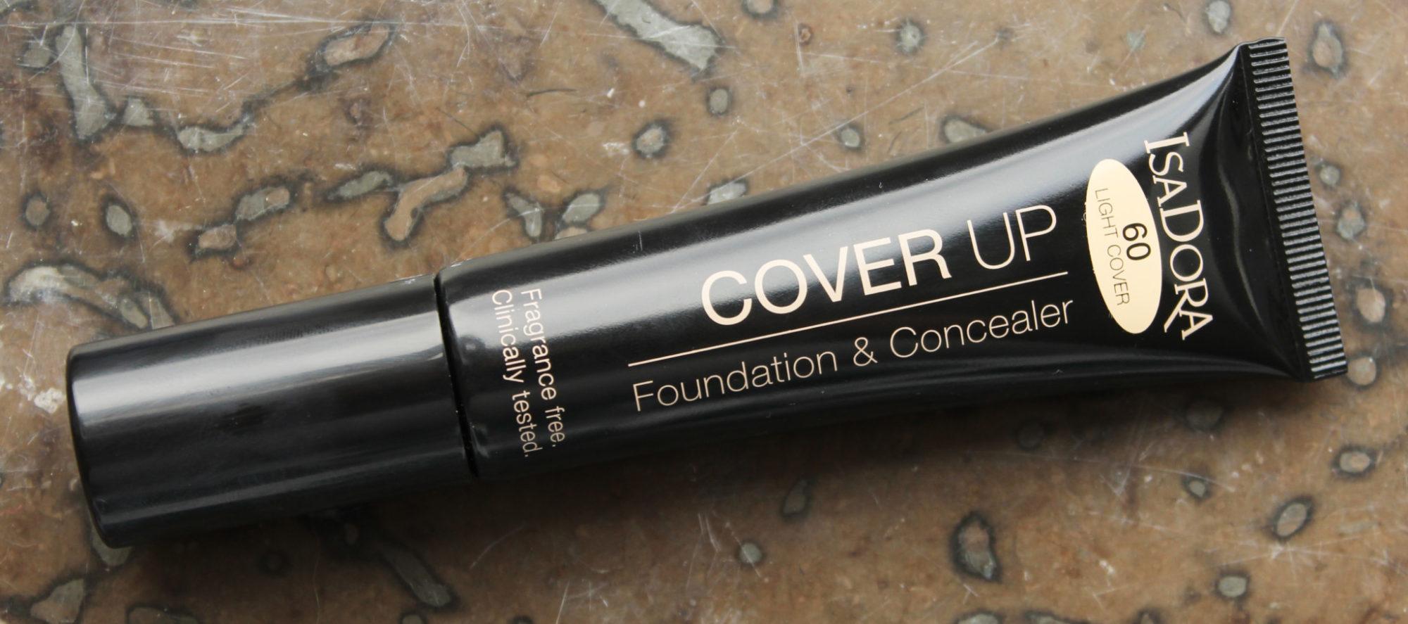 Recension: IsaDora Cover Up Foundation & Concealer