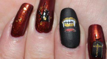 Halloween naglar