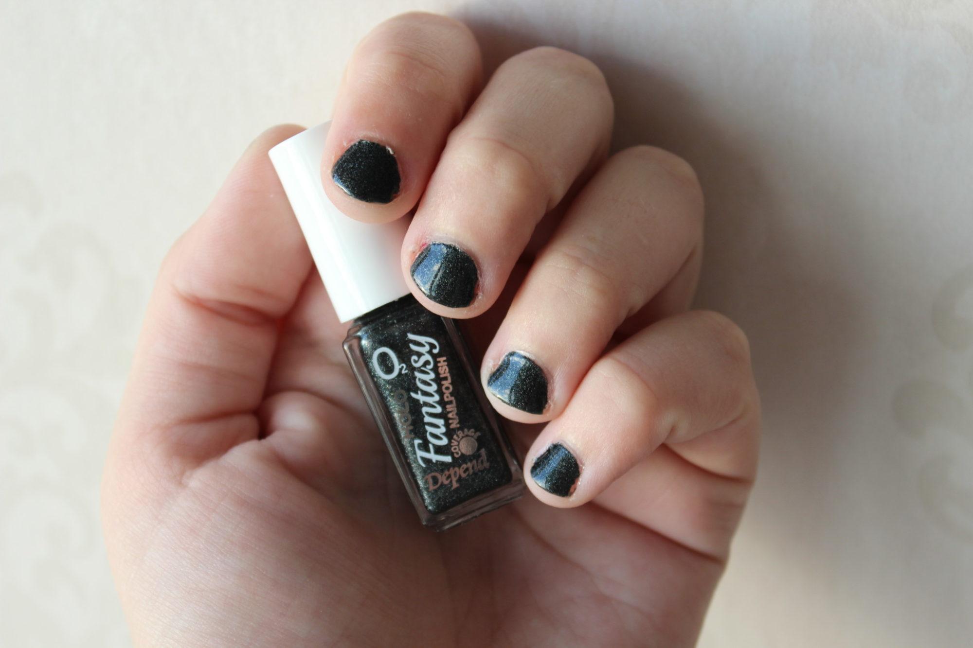 Jag har inte målat naglarna på 3 månader…