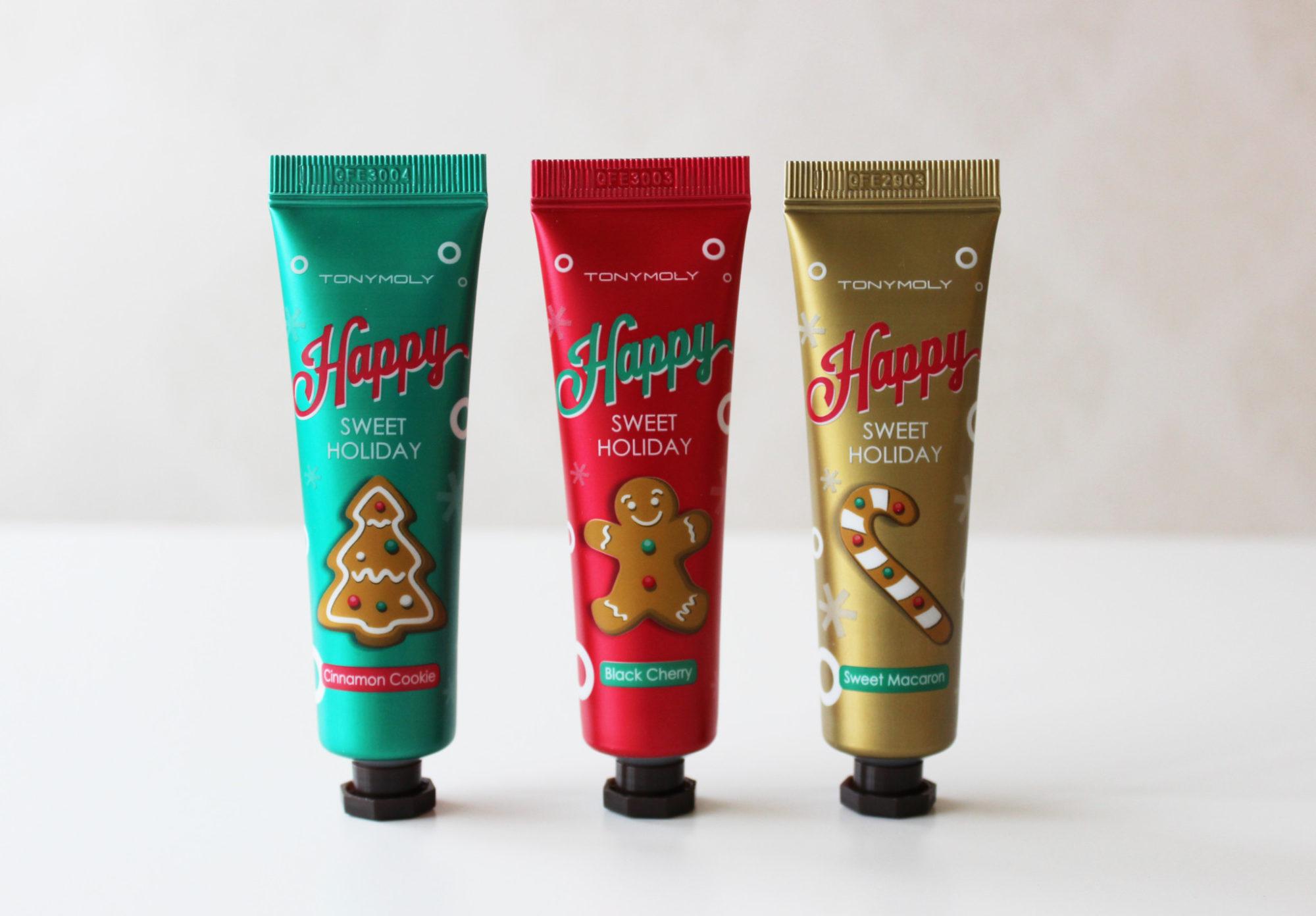 Fixa julkänslan med handkrämer från Tony Moly!