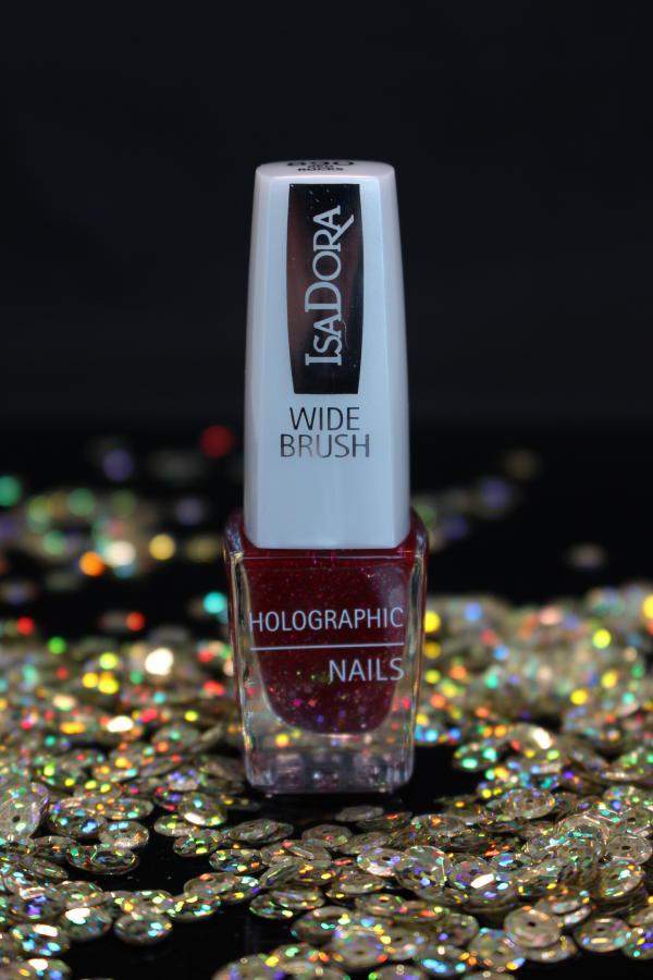 IsaDora Holographic Glitter Nails