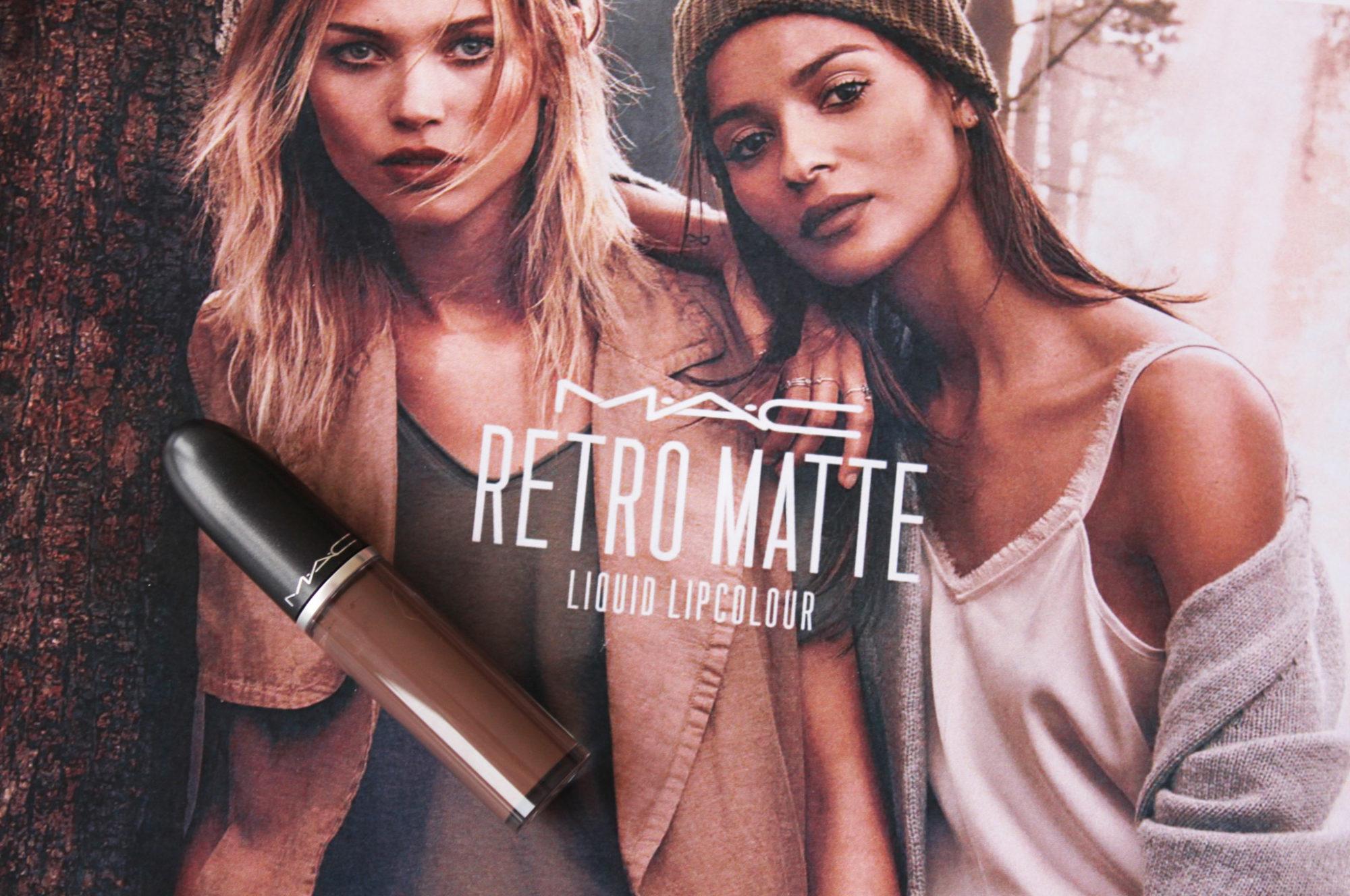 MAC Retro Matte Liquid Lipcolour Ess-Presso