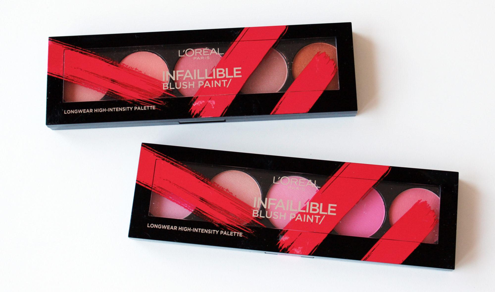 L'Oréal Paris Infallible Blush Paint – bilder och swatches