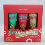 TonyMoly Happy Sweet Holiday hand cream trio