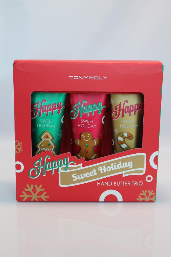 TonyMoly Happy Sweet Holiday hand cream trio