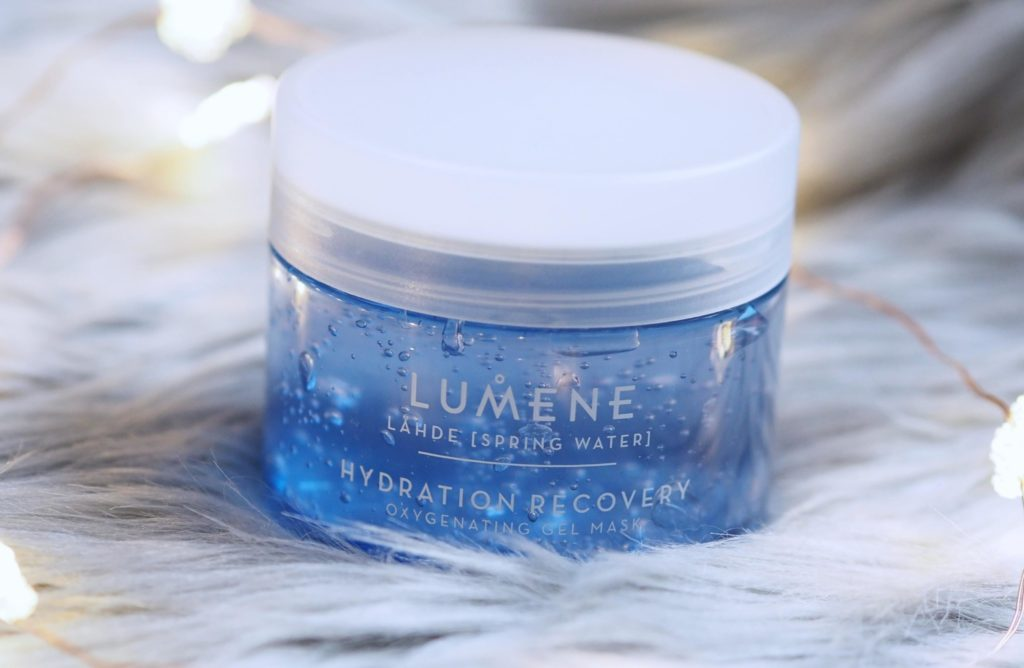 Lumene Lähde Hydration Recovery Oxygenating Gel Mask