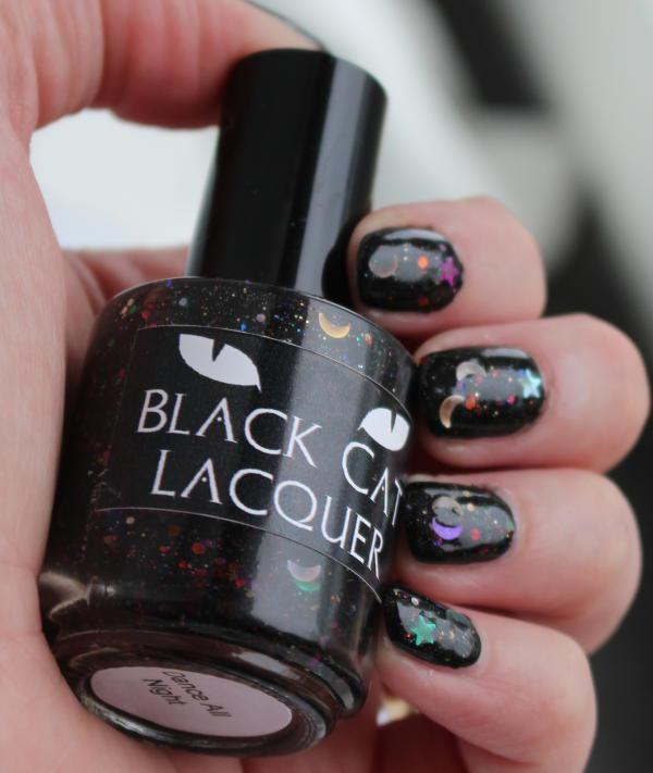 Black Cat Lacquer Dance All Night