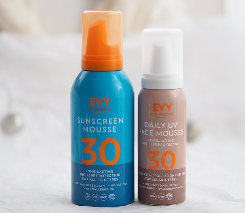 EVY Technology Daily UV Face Mousse SPF30