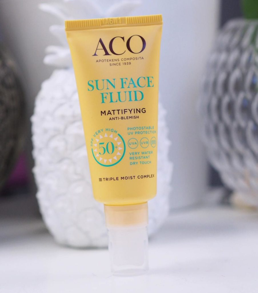 ACO Sun Face Fluid Mattifying spf 50