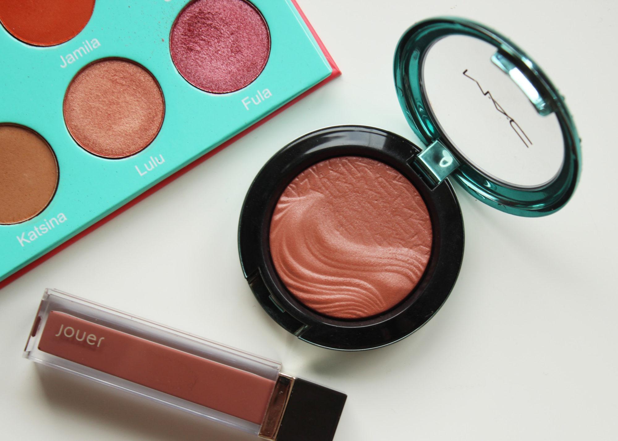 Veckans topp 3 med Juvia's Place, MAC och Jouer Cosmetics