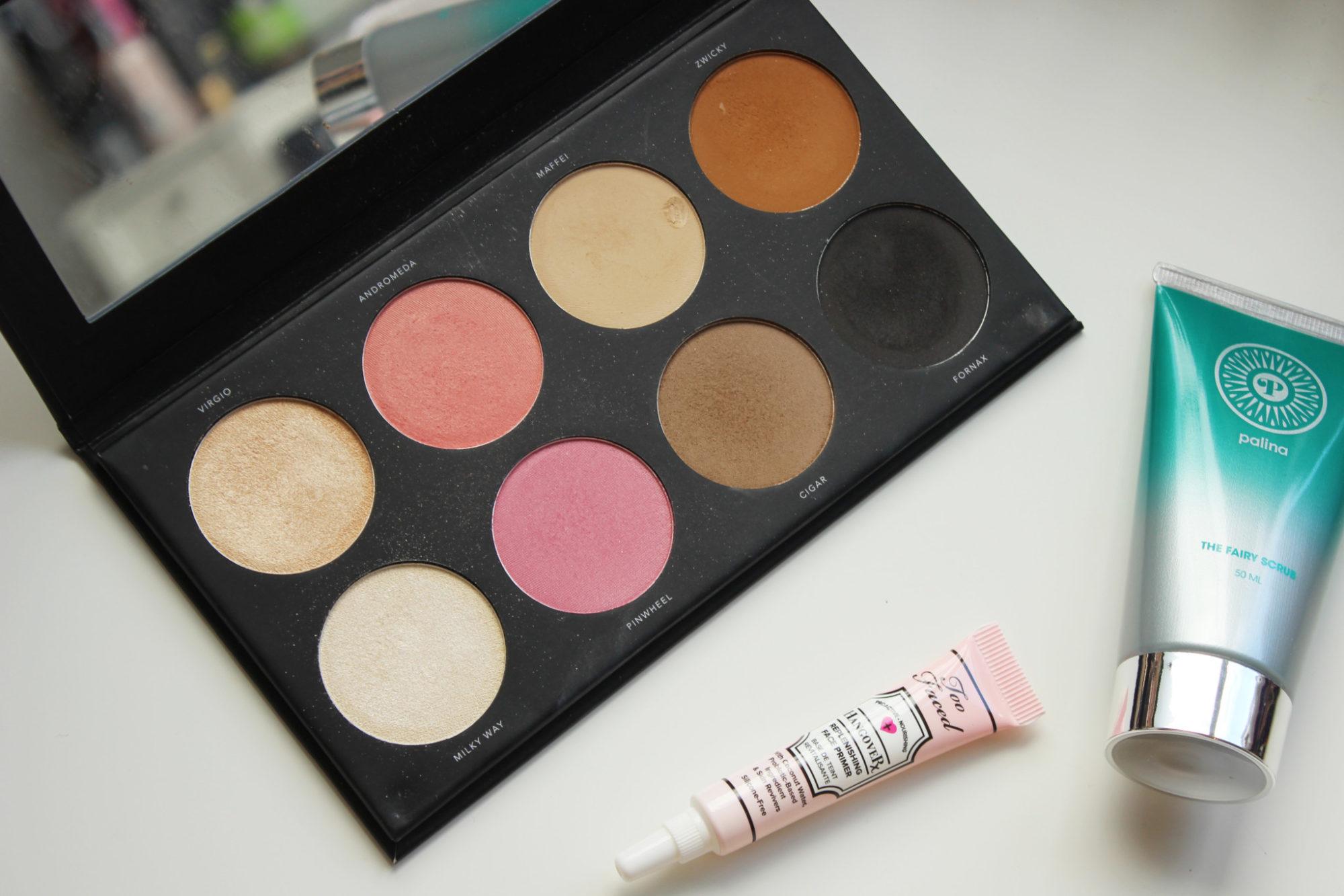 Veckans topp 3 med LH Cosmetics, Too Faced och Palina