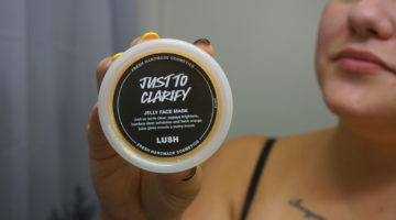 Lush just to clarify jelly face mask