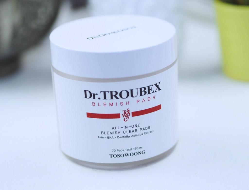 Tosowoong Dr. Troubex Blemish Pads