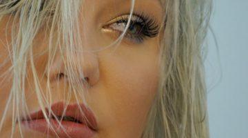 KajsaLinnea blå ögonlook