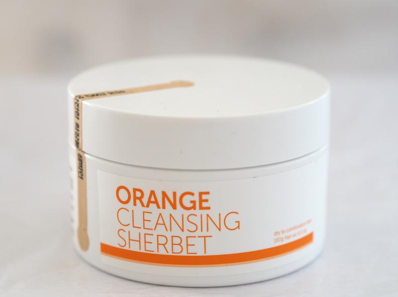 Orange Cleansing Sherbet