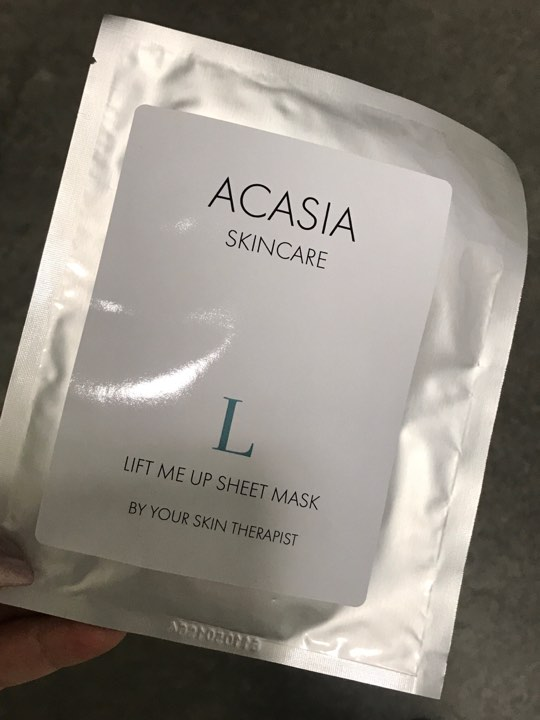 Acasia Lift me up sheet mask
