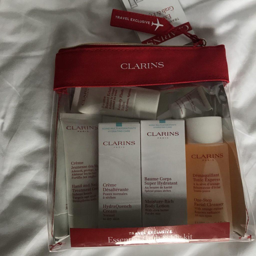 Clarins Flight Exclusive