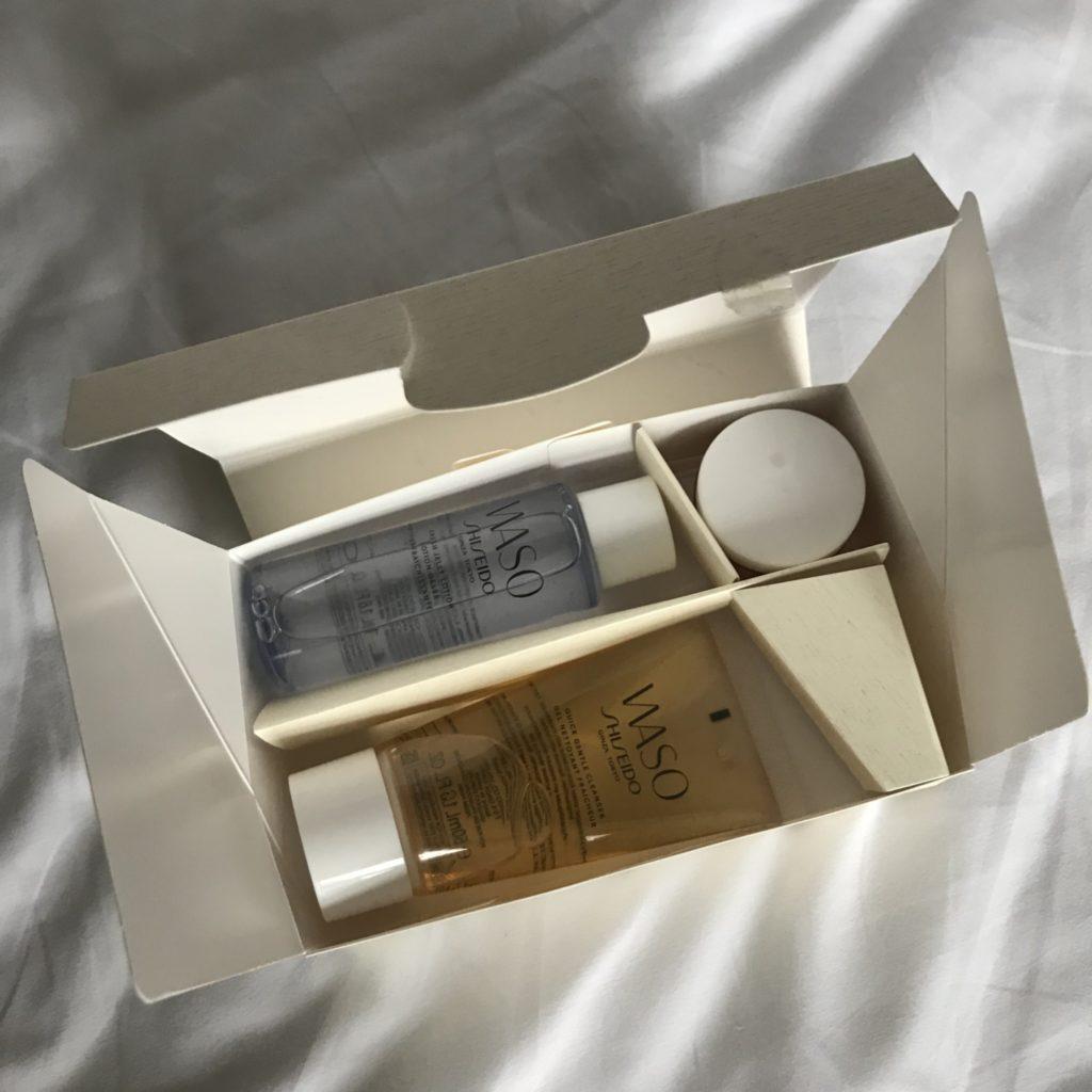 Shiseido waso bento box