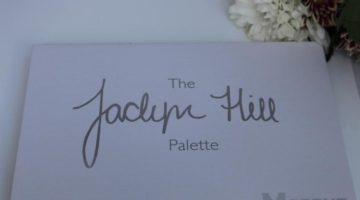 The Jaclyn Hill palette
