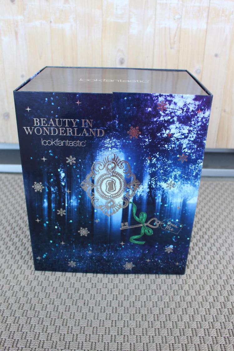 Lookfantastic Beauty in Wonderland advent calendar