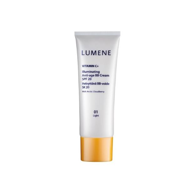 recension lumene vitamin c illuminating anti age bb cream spf 20 daisy beauty. Black Bedroom Furniture Sets. Home Design Ideas