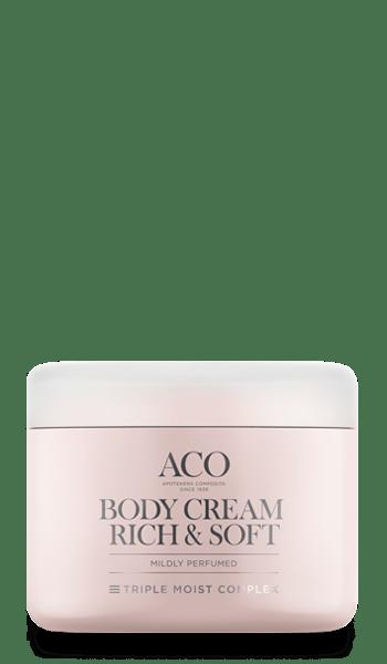aco body lotion rich recension