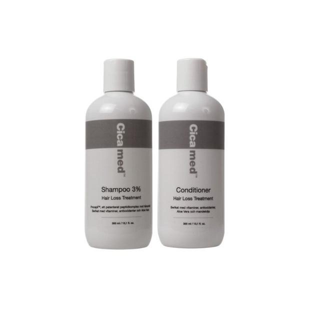 schampo mot håravfall test