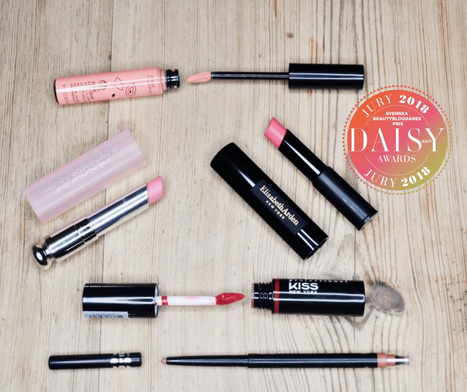 Daisy Beauty Awards 2018 Årets Läpprodukt