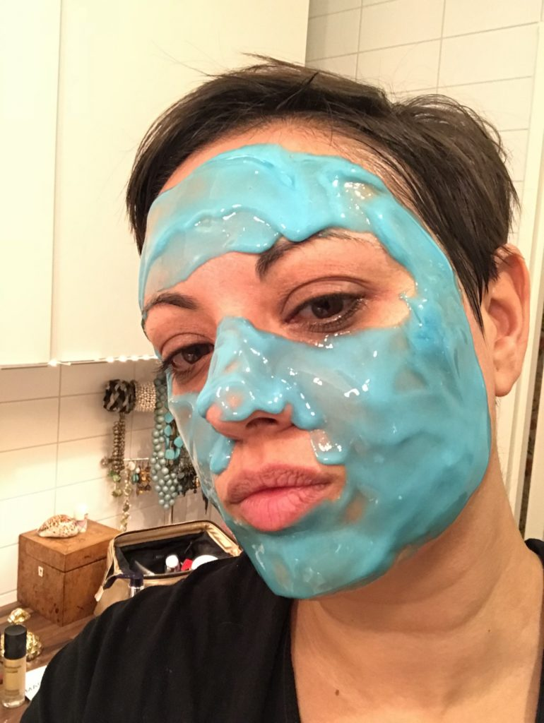 bästa ansiktsmasker Dr Dennis Gross Skincare Hyaluronic Marine Hydrating Modeling Mask