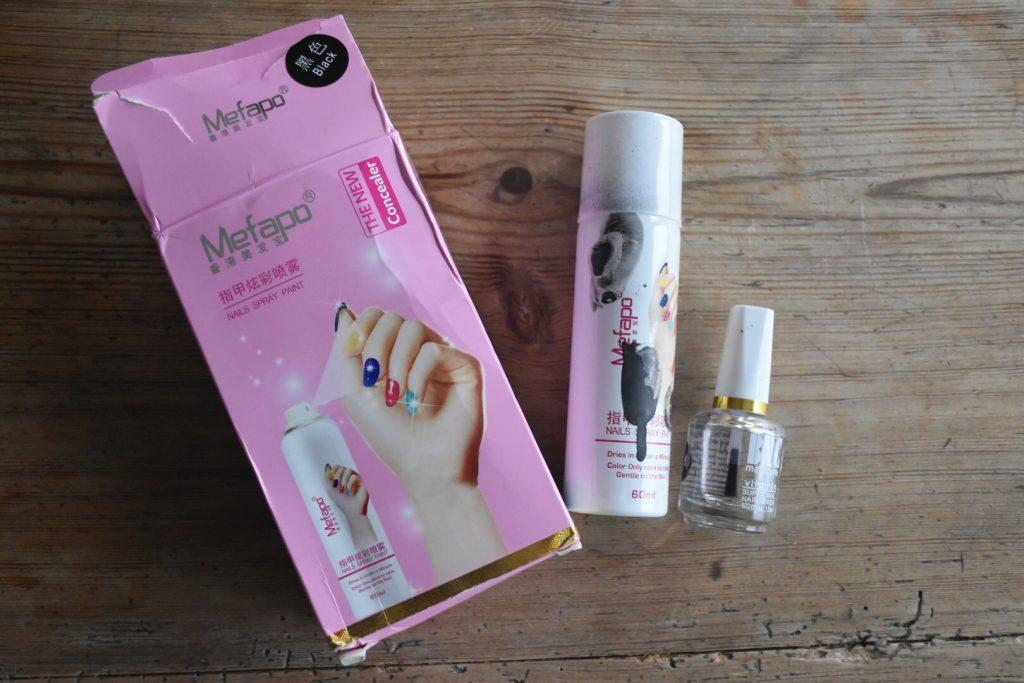 Pro Nail Polish Spray